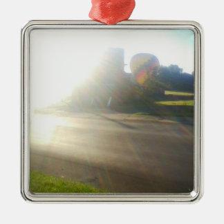 Morning Ride Metal Ornament