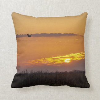 Morning Rise Throw Pillow