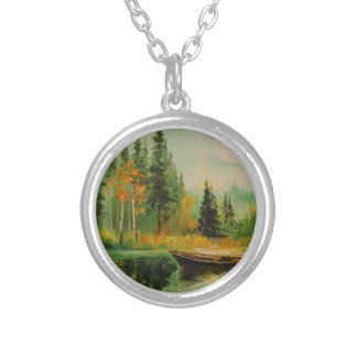 Morning Silver Plated Necklace