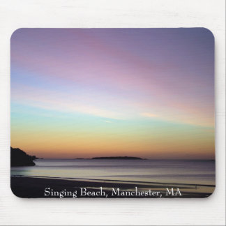Morning Sky at Singing Beach Mouse Pad
