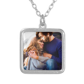Morning Snuggle Silver Plated Necklace