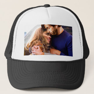 Morning Snuggle Trucker Hat