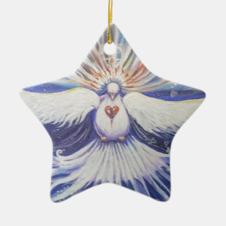 Morning Star Ceramic Star Decoration