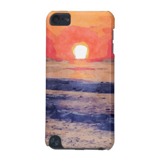 Morning Sun Over Atlantic Ocean iPod Touch (5th Generation) Case