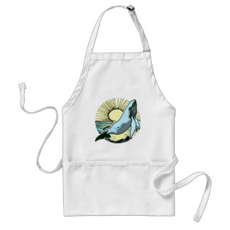 Morning sun whale 2 standard apron