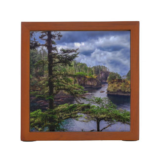 morning sunrise olympic peninsula Cape Flattery Desk Organiser