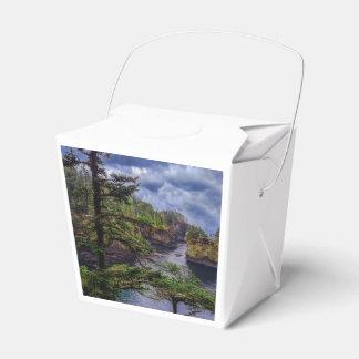 morning sunrise Olympic peninsula Cape Flattery Favour Box