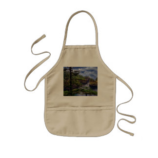 morning sunrise olympic peninsula Cape Flattery Kids Apron