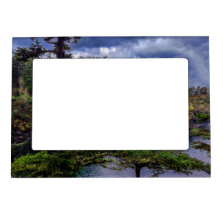 morning sunrise Olympic peninsula Cape Flattery Magnetic Picture Frame