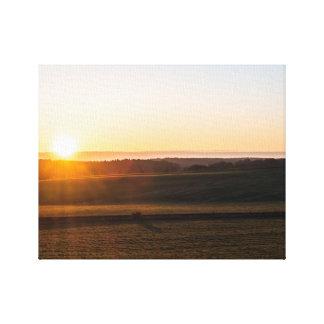 Morning Sunset Canvas Print