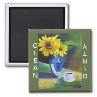Morning Sunshine II Square Magnet