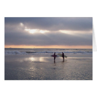 Morning Surf Card