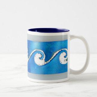 Morning Surf Coffee Mugs