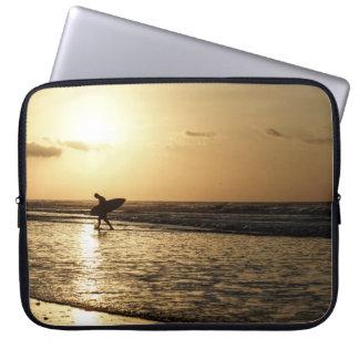 Morning Surfer Laptop Sleeve