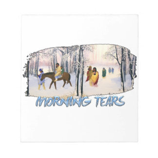 Morning Tears Notepad