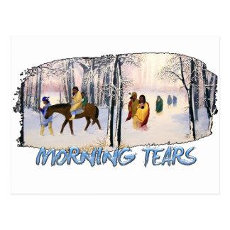 Morning Tears Postcard