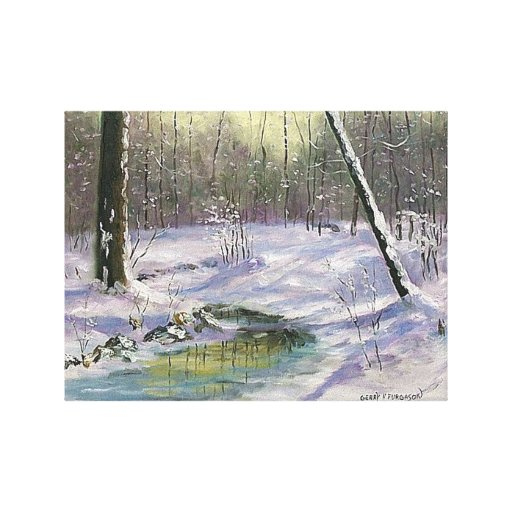 """""""MORNING THAW"""" GALLERY WRAP CANVAS"""
