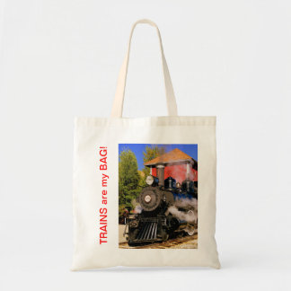 Morning Train Tote Bag