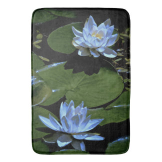 Morning Water Lilies Bath Mat