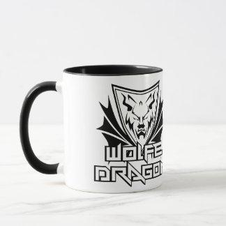 Morning Wolfe Dragon Mug