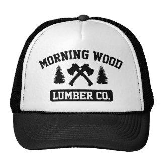 Morning Wood Lumber Co. Trucker Hats