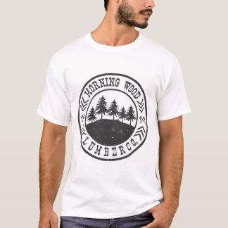 MORNING WOOD LUMBER CO, T-Shirt