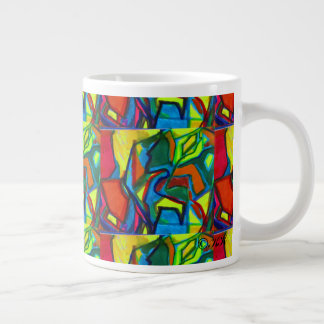Morningflower Large Coffee Mug
