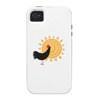 MorningRooster_Base Case-Mate iPhone 4 Case