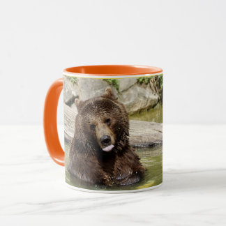 Mornings Can Be Grizzly 11oz Coffee Mug By Zazz_it