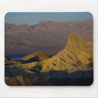 Mornings first light on  Zabriskie Point and 3 Mouse Pad
