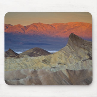 Mornings first light on  Zabriskie Point and Mouse Pad