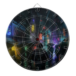 Mornings For People Of The Night Dartboard