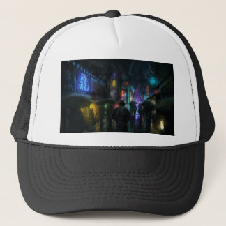 Mornings For People Of The Night Trucker Hat