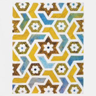 Moroccan Bliss Fleece Blanket
