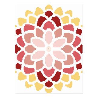 Moroccan Bloom Postcard