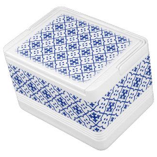 Moroccan Blue Cooler