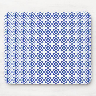 Moroccan Blue Mouse Pad