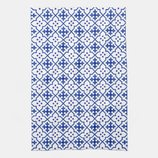 Moroccan Blue Tea Towel