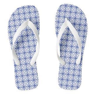 Moroccan Blue Thongs