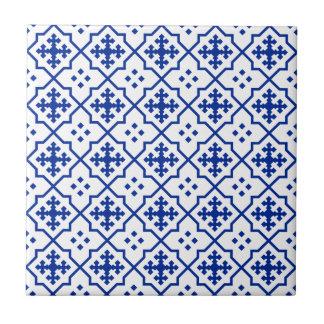 Moroccan Blue Tile