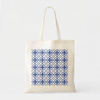 Moroccan Blue Tote Bag