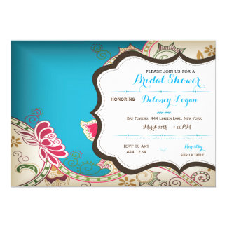 Moroccan Bridal Shower Invitation