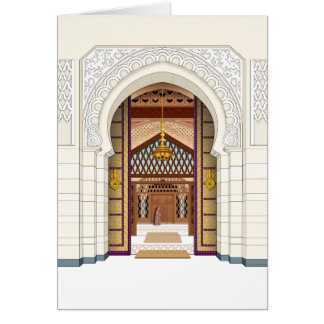 Moroccan Doorsc Greeting Card