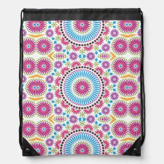 Moroccan Drawstring Backpack