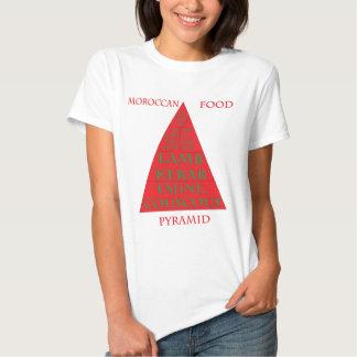 Moroccan Food Pyramid Tshirt