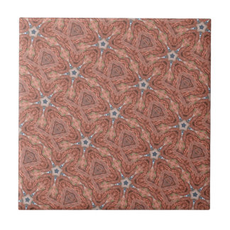 moroccan geometric star tile