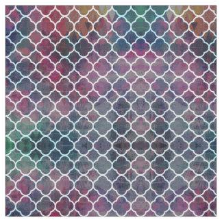 Moroccan grunge fabric
