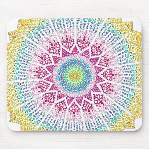 Moroccan Jewels Mouse Pad