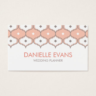 Moroccan Pattern Business Card
