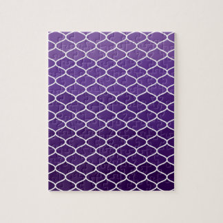 Moroccan pattern jigsaw puzzle
